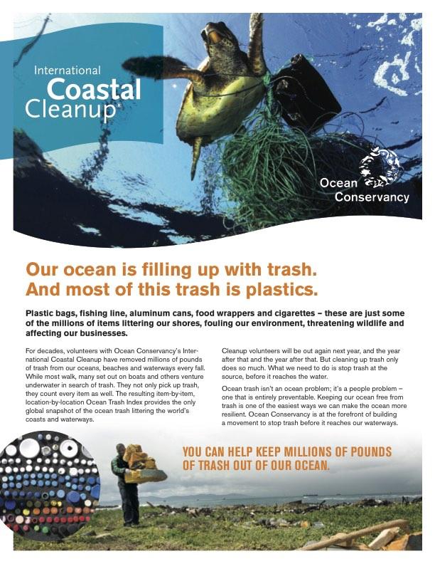 International Coastal Clean up in Vanuatu