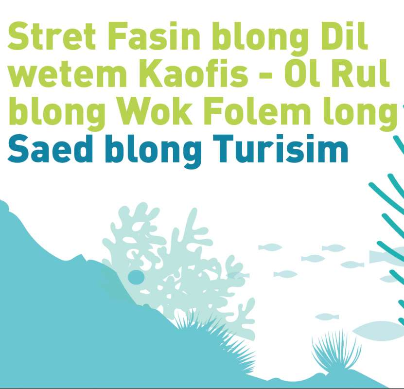 Bislama Code of conduct for tourism and dugongs