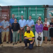 contain of plastic for recycling from Vanuatu